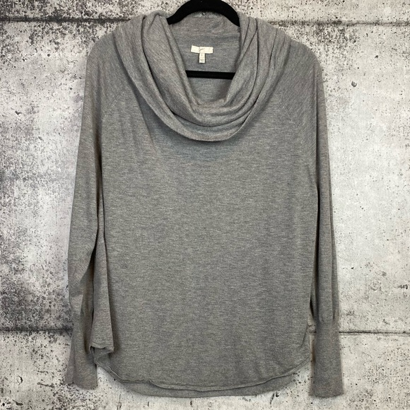 Joie // Cowl Neck Slouchy Long Sleeve Top